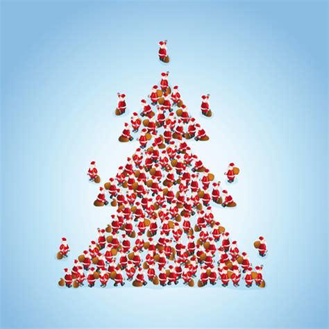 Kreatives Zu Weihnachten by Creative Tree Background Vector Free Vector