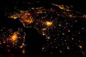 The View from Space: Northwestern Europe at Night