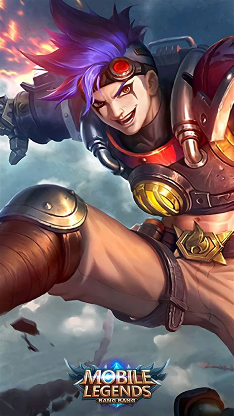 wallpaper keren mobile legends  buat semangat push