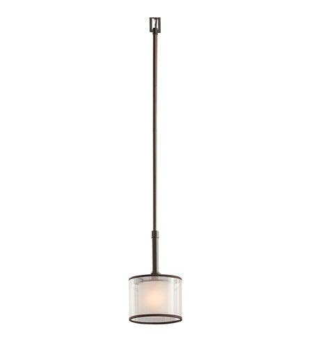 kichler lighting 1 light mini pendant in mission