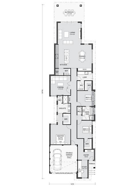 mae  frontage home design pindan homes