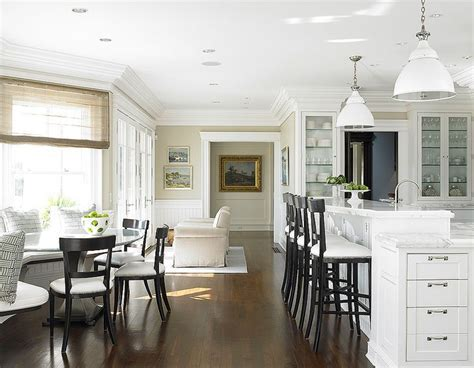 Black and White Bar Stools   Traditional   kitchen   Diana