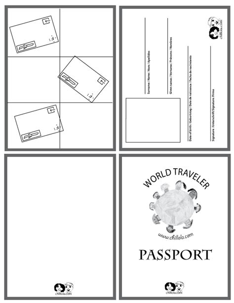 Passport Picture Template by Passport Template On Mexico Crafts Australia