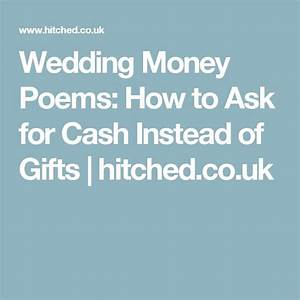 wedding money poems how to ask for money instead of gifts With how to ask for money for wedding gift