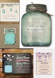 Mason jar invitations wedding sunshinebizsolutionscom for Rustic wedding invitations david s bridal