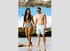 SarahJane Crawford dons a cutout swimsuit as she hits