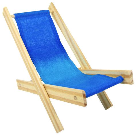 wood lawn folding chair shades of blue fabric