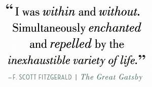 Setting The Gre... Useful Gatsby Quotes