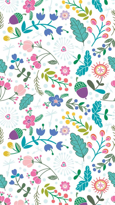 Choose from a curated selection of pattern wallpapers for your mobile and desktop screens. Hello Spring iPhone Wallpaper Collection | Preppy Wallpapers