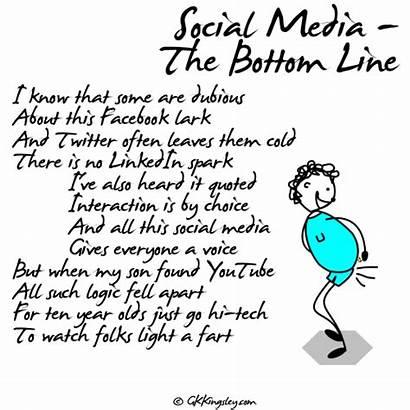 Social Poems Bottom Line Gk Kingsley Taken