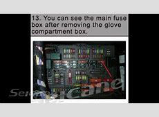 Car stereo remove installation instruction for 20052012