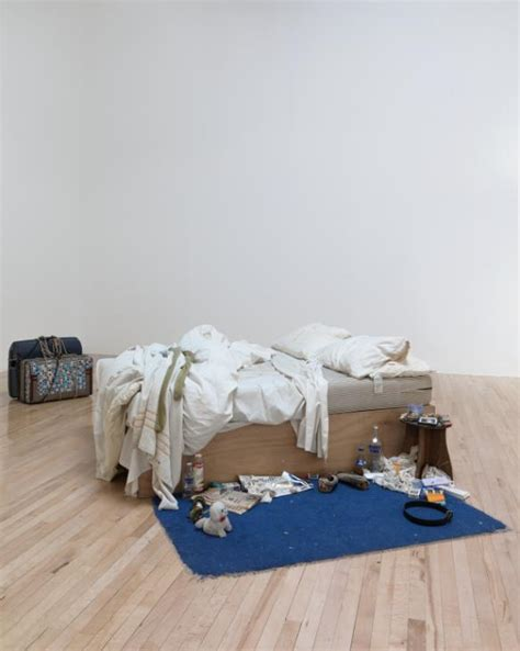 Tracey Emin My Bed by Tracey Emin And William In Focus Exhibition At