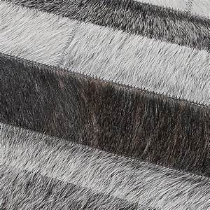 tapis jacob gris 170x230 home spirit With tapis peau de vache avec canape cuir chocolat convertible