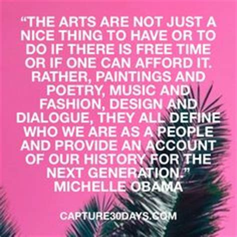 Art Education Quotes Obama