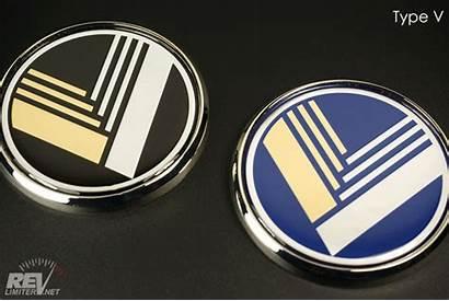 Badge Eunos Badges Revlimiter Chrome Gold Edition