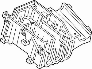 Chevrolet Cruze Fuse And Relay Center Bracket  Compartment