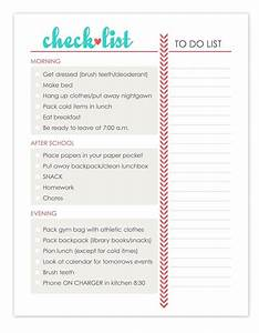 Morning Routine Printable Chart Daily Check List Daily Routine Kids Daily Routine Chart
