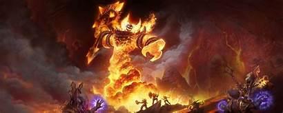 Wow Classic Warcraft Ragnaros Wallpapers Desktop Background