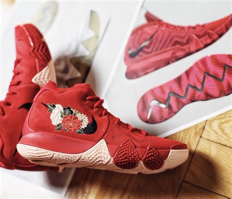 Nike Kyrie 4 Cny Chinese New Year Release Date  Sneaker