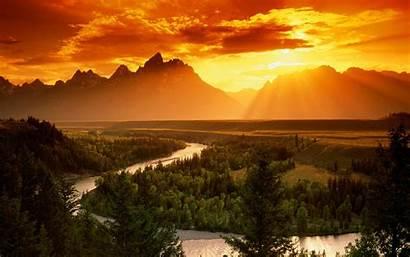Snake River Teton Grand National Park Wallpapers