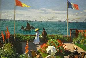 Monet, Garden at Sainte-Adresse | Flickr - Photo Sharing!