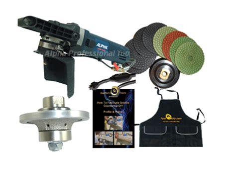 edge profile kit for granite countertops