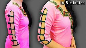 Latest Sleeves Designs For Kurtis - The Handmade Crafts