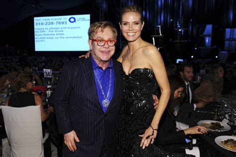 Heidi Klum Pictures Elton John Aids Foundation Oscar