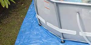 Tapis Sous Piscine : tapis de sol pour piscine hors sol intex plusieurs dimensions ~ Melissatoandfro.com Idées de Décoration