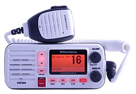 Boat Marine Radio Channel by West Marine Vhf580 Another Independent Unbiased Vhf