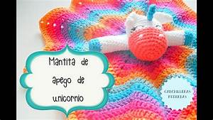 Manta De Apego De Unicornio  1  2     Tutorial