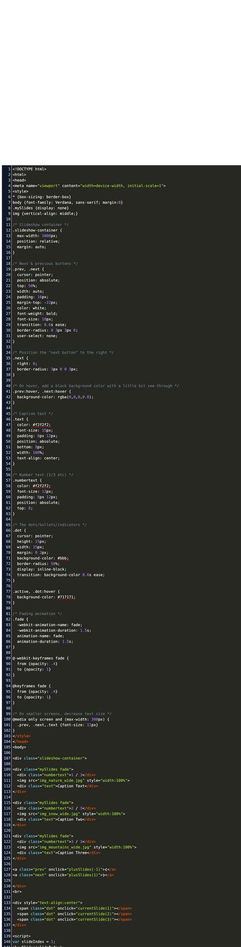 bootstrap multiple image slider wschools code code