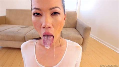 Asian Sexpot Kalina Ryu Claims For A Status Of Deepthroat