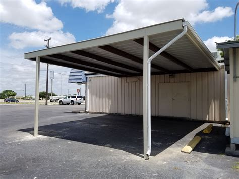 Lucy's Cake Shop, Leon Valley Custom Carport Carport