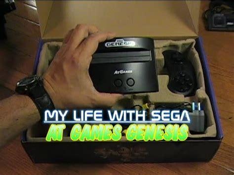 life  sega atgames genesis console youtube