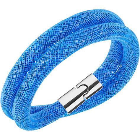 bracelet swarovski bleu bracelet swarovski stardust 5186426 bracelet cristal
