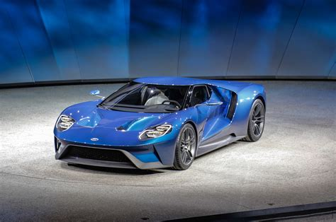 All-new Ford Gt Supercar Debuts In Detroit