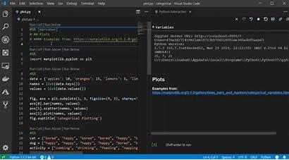 Python Visual Studio Code Microsoft Viewer Plot