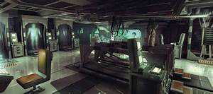 Alien: Isolation concept art is a precursor of horrors and ...