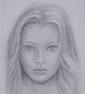 Realistic Drawing Of Human Face - Drawing Of Sketch