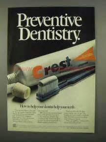 Vintage Crest Toothpaste Ads