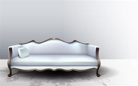 3d home interior design white sofa wallpapers and images wallpapers pictures