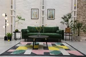 Made Com Canapé : inspiration je veux un canap vert madame d core ~ Teatrodelosmanantiales.com Idées de Décoration