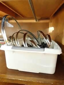 How to Organize Pot and Pan Lids
