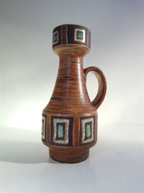 vintage keramik ceramic west german pottery vase