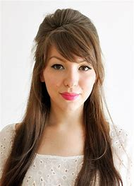 Different Hairstyles with Bangs for Long Hair