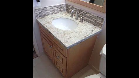 install vanitygranite topstone glass backsplash