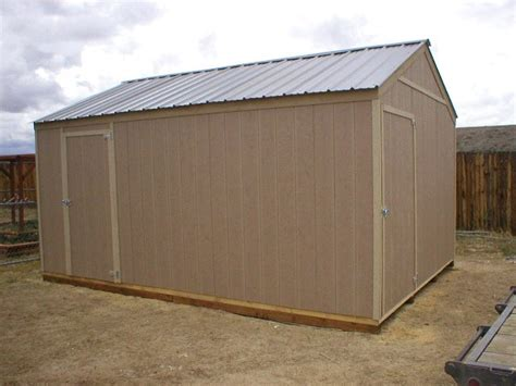 12x16 shed cost quality storage sheds
