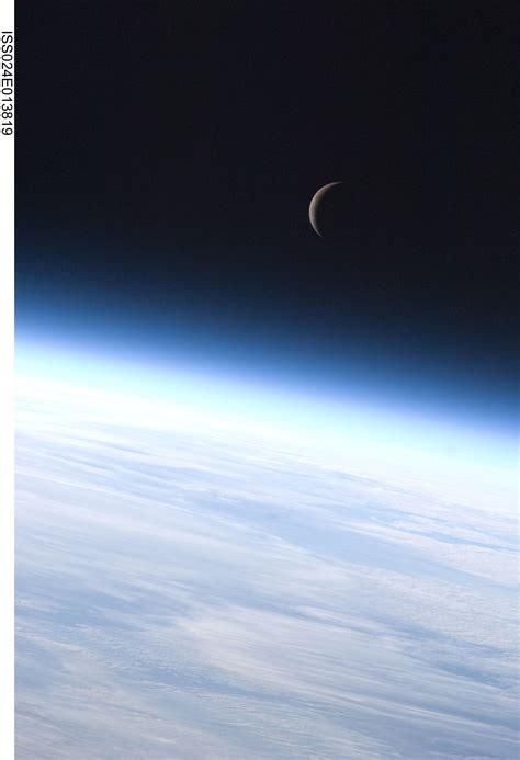 crescent moon nasa
