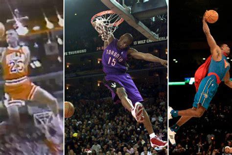 Best Slam Dunk Contest Dunks Bracket Michael Jordan Dr